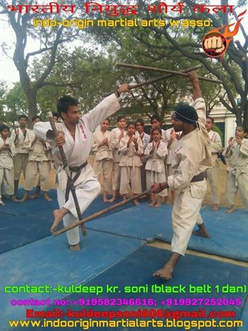 suresh martial arts karate master kuldeep soni ghaziabad uttar