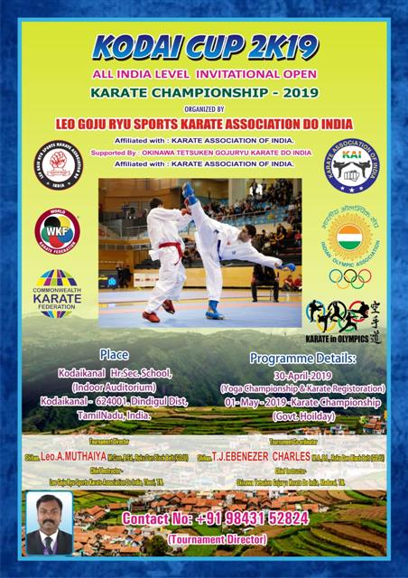All India Level Invitational Open Karate Championship 2019
